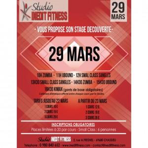 Stage dimanche 29 mars
